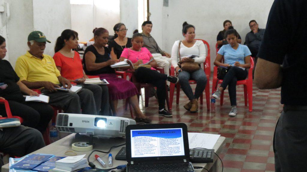 Visita de Directora de Promoción y Educación de la Procuraduría de Derechos Humanos de Guatemala