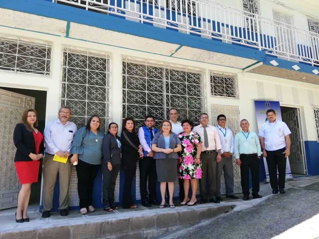Procuradora visitó nuevas instalaciones de Delegación Departamental en Chalatenango