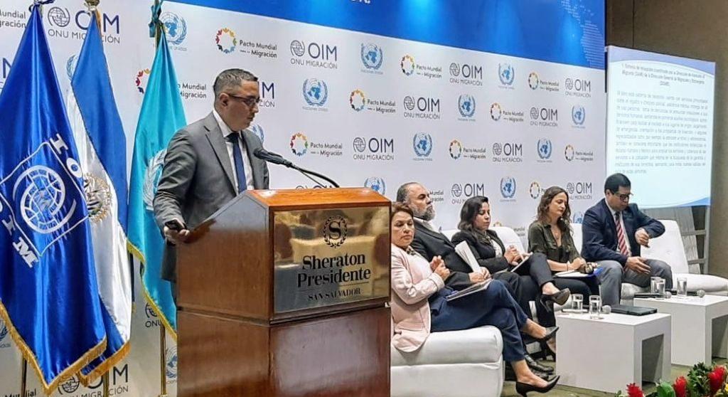 Procurador de Derechos Humanos participa en Foro: Hacer una Migración Segura, Ordenada y Regular en El Salvador