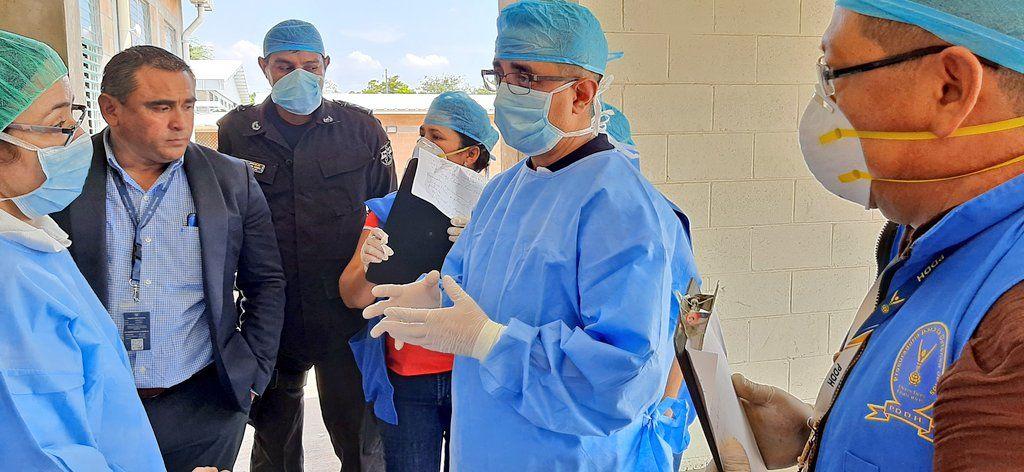 Procurador DDHH Verifica Condiciones en Centros de Contención por Cuarentena por Coronavirus