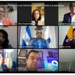 Procurador participó en seminario virtual de CIDH sobre rol de INDH