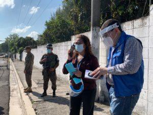 PDDH verifica diligencias judiciales en busca de archivos militares caso El Mozote