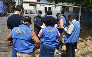 Verificación Centro Contención COVID19 Villa Centroamericana