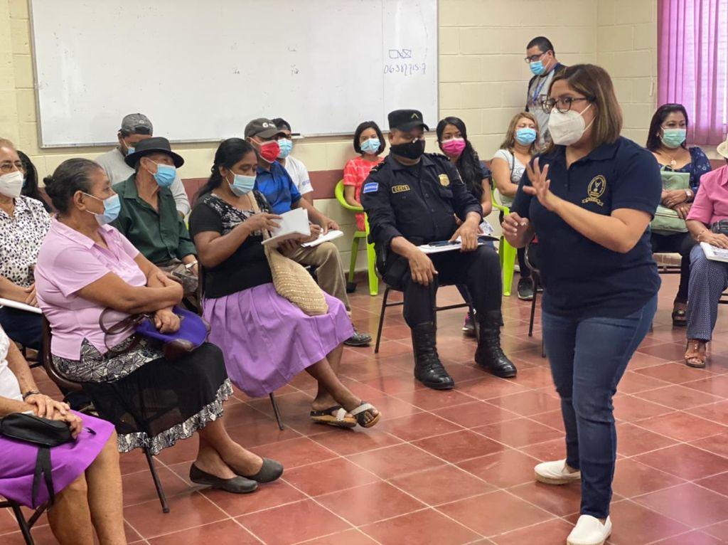 PDDH Desarrolla Ponencia Derechos de las Personas Adultas Mayores frente al COVID-19