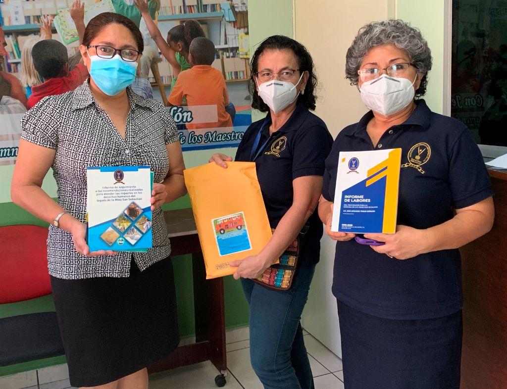Biblioteca de la PDDH realiza jornadas de entrega gratuita de libros