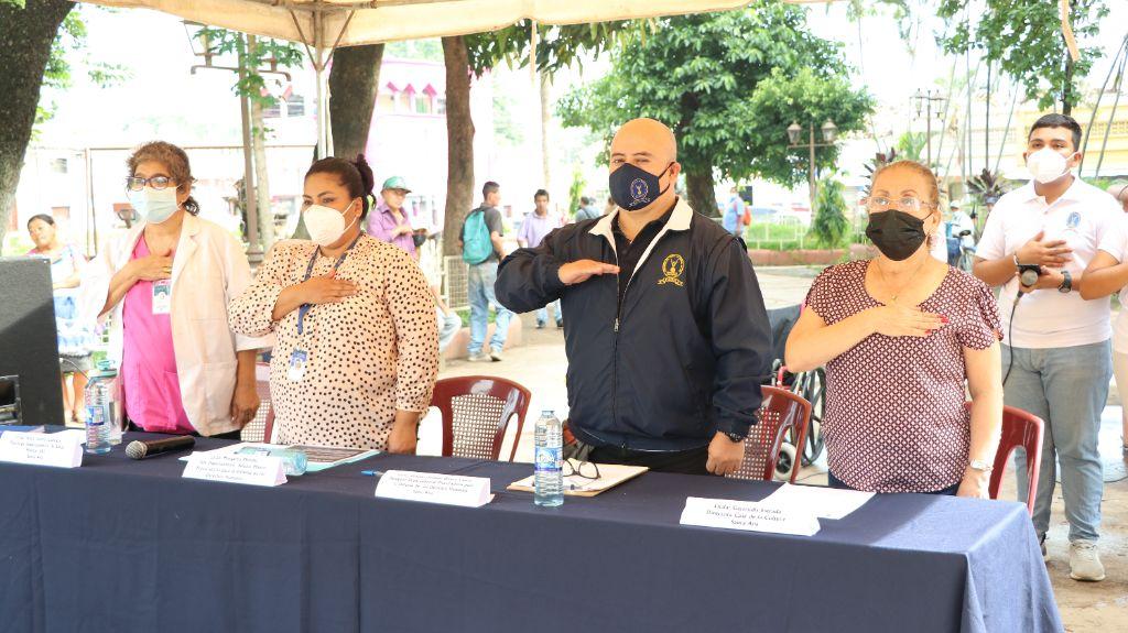 Delegaciones de PDDH de Occidente difunden derechos humanos de personas adultas mayores
