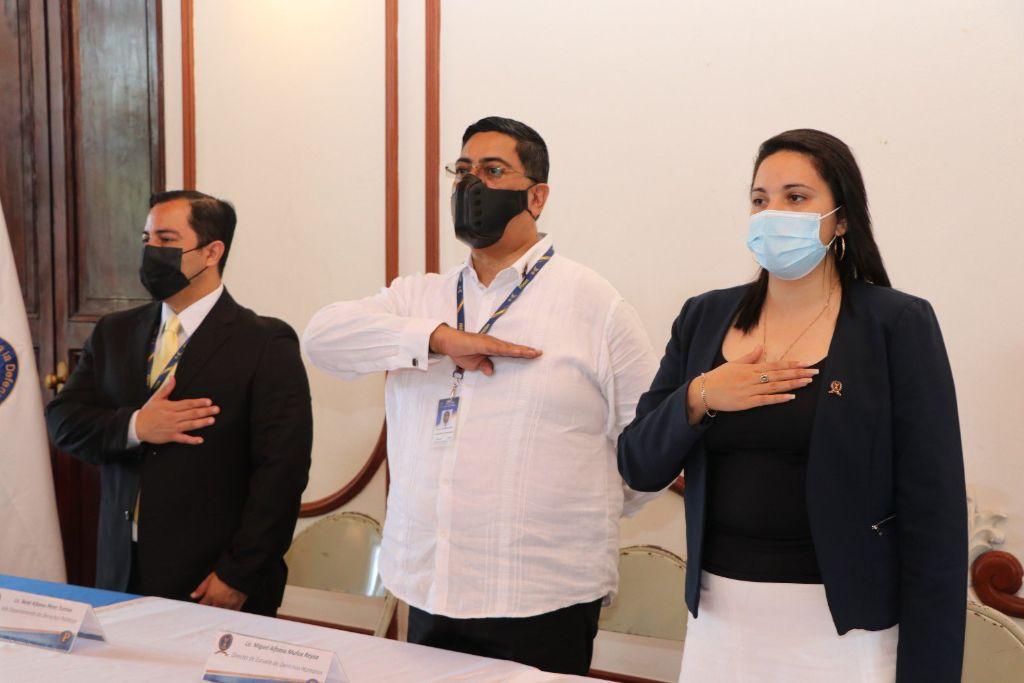 PDDH desarrolla jornada de formación en DDHH para comunas de San Salvador