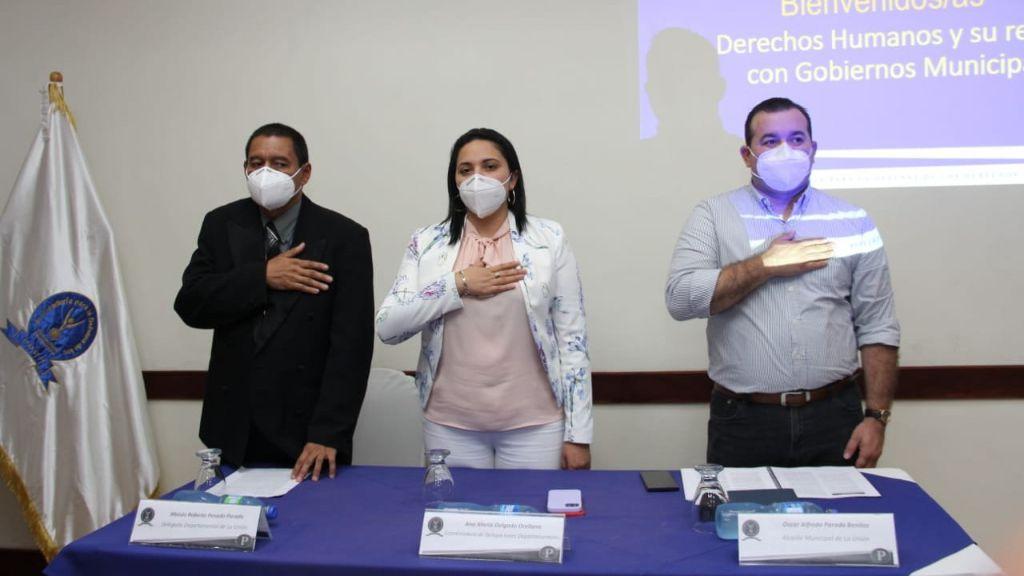 Gobiernos Municipales de La Unión Fortalecen su Formación en Derechos Humanos